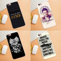 Soft TPU Phone Capa For Huawei G7 G8 Honor 5A 5C 5X 6 6X 7 8 V8 Mate 8 9 P7 P8 P9 P10 Lite Plus Supernatural Impala Old Glossy