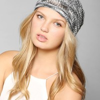 Space-Dye Open-Knit Beanie - Urban Outfitters