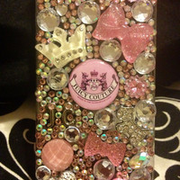 Juicy Couture iPhone 4S case with rhinestones. by Blingccessorize