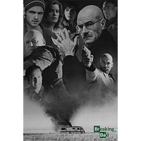 Breaking Bad Green Text Poster