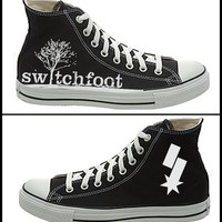 Switchfoot Hanpainted Converse Shoes