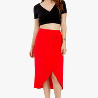 Red Siren Skirt