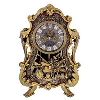Disney Parks Beauty and the Beast Film Cogsworth Clock Limited New with Box