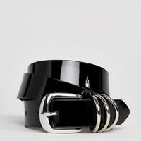 Pieces Ring Belt at asos.com