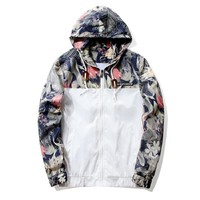 New Floral Bomber Jacket  + Free Shipping