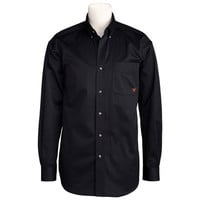Ariat Men's Long Sleeve Solid Black Twill Button-Down Shirt 10000502