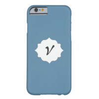 Your Initial Here Air Force Blue RAF Iphone 6 Case