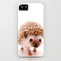 Hedgehog iPhone & iPod Case by Derek Doi