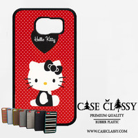 hello kitty red Samsung Galaxy S6 Case CaseClassy