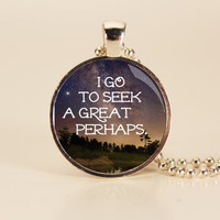 John Green - Looking for Alaska - Book Quote Charm
