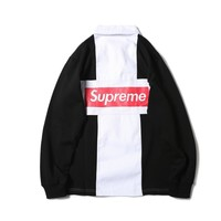 Supreme Winter Long Sleeve Patchwork Unisex Pullover Sweatershirt [11570721676]