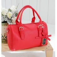 Wholesale Sweetheart bowknot Boston bag TW-2040R - Lovely Fashion