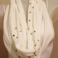 infinit staples, combed cotton scarf, loop combed cotton  scarf, circle scarf, fashion infinity scarf, chain infinity scarf, chain scarf