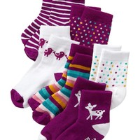Fashion Crew Sock 6-Packs for Baby