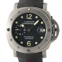 Officine Panerai Luminor Automatic-self-Wind Mens Watch PAM 25_ (Certified Pre-Owned)