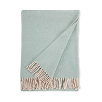 Celine Aqua Throw by Sferra