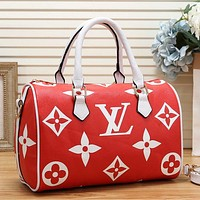 Louis Vuitton LV Women Fashion Leather Travel Luggage Bag Tote Shoulder Bag
