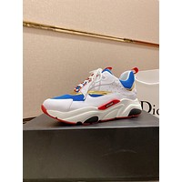 dior men fashion boots fashionable casual leather breathable sneakers running shoes 63