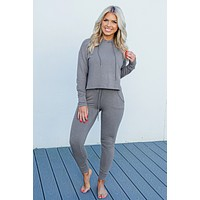 Travel In Style Hoodie: Grey