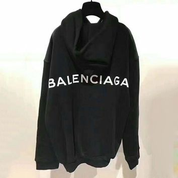 Balenciaga Fashion Long Sleeve Pullover Sweater Hoodies