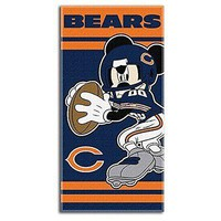NFL Chicago Bears Disney Beach Towel, 30-inch by 60-inch