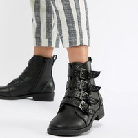 ASOS DESIGN Ackton Studded Ankle Boots at asos.com