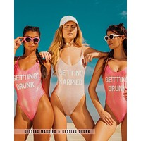 GRL GNG Collection - Getting Married & Getting Drunk Separates in More Colors