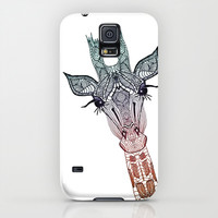 GiRAFFE Galaxy S5 Case by Monika Strigel
