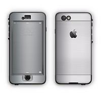 The Chrome Reflective Apple iPhone 6 LifeProof Nuud Case Skin Set
