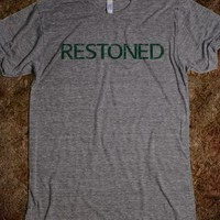 Awesome League Inspired 'Restoned' T-Shirt For Weed Smokers