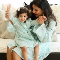 Mommy and Me Robe Set in Bella