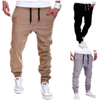 Men Slim Casual Track Pants- Free Shipping