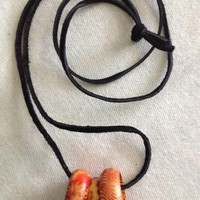 Wood Ring Necklaces