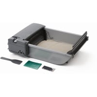 """Our Pets Deluxe SmartScoop Self-Scooping Litter Box Gray 25.5"""" x 18.25"""" x 7.5"""""""
