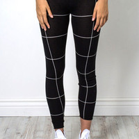 Decker Street Heat Leggings - Black