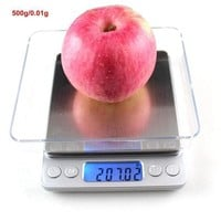CREYLD1 500gx0.01g Mini Libra Digital Kitchen Scales for Food Fruit Jewelry Scale Weighing Balance