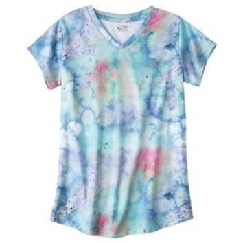C9 by Champion® Girls' Duo Dry® Short-Sleeve V- Neck Tech Tee