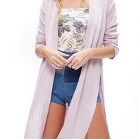 Free People Ribby Long Cardigan | Nordstrom