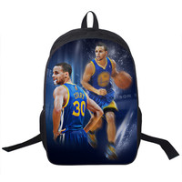 Utltimate Warriors Steph Stephen Curry Lebron James Bag Backpack basketball finals School teen unisex adult