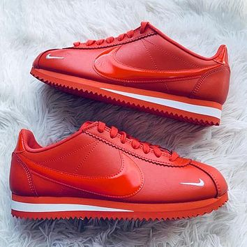 Alwayn Nike Classic Cortez Forrest Sports Shoes Classic Shoes Leisure Sneakers Red