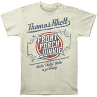 Thomas Rhett Men's  Front Porch Junkie T-shirt Natural