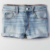 AEO Denim X Hi-Rise Shortie, Midnight Summer
