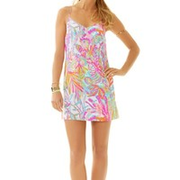 Dusk Strappy Silk Slip Dress - Lilly Pulitzer