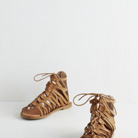 Boho Piece of the Athens Sandal in Tan