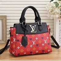 LV Louis Vuitton Women Tote Crossbody Satchel Shoulder Bag Handbag Bag