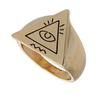 Unique Triangle Eye Ring - Jewellery - Accessories - Topshop