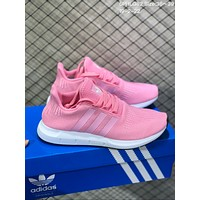DCCK2 A580 Adidas Tubular Shadow Knit Casual Running Shoes Pink