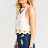 Garth Crop Top ~ Sunny Nicks Crochet