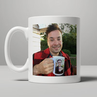 Jimmy Fallon and Justin Timberlake Coffee Mug, Tea Mug, Coffee Mug