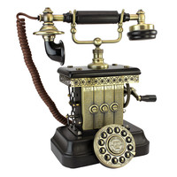 Park Avenue Collection Victorian Magneto 1923 Telephone